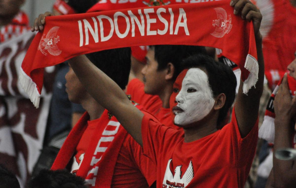 Supporter Timnas Indonesia